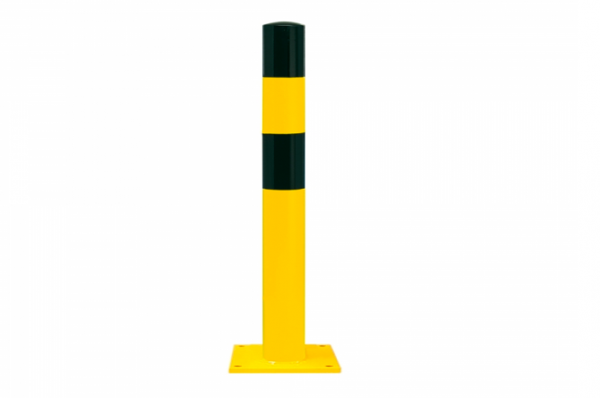 Black Bull rambeveiligingspaal S te pluggen geel zwart #1   Rampaal   Groven Store Safety