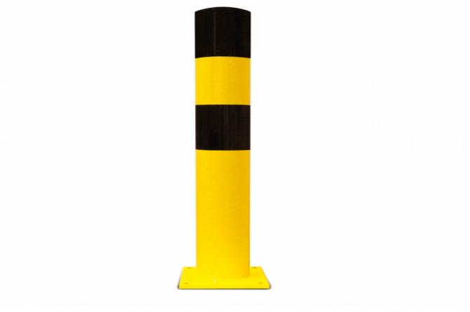 Black Bull rambeveiligingspaal L pluggen geel zwart #1   Rampaal   Groven Store Safety