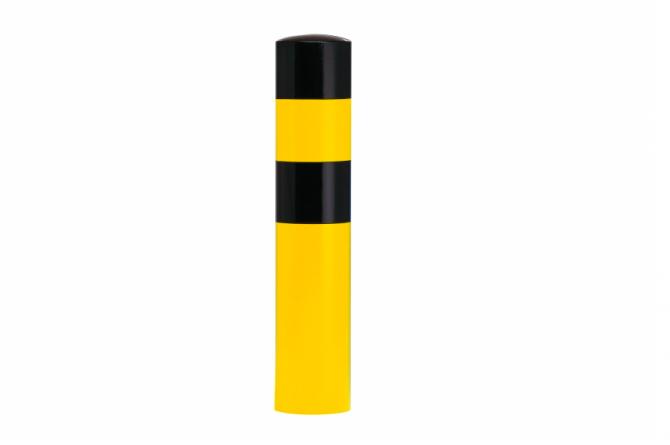 Black Bull rambeveiligingspaal L geel zwart betonneren #1 | Rampaal | Groven Store Safety