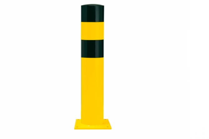 Black Bull rambeveiligingspaal XL pluggen geel zwart #1   Rampaal   Groven Store Safety