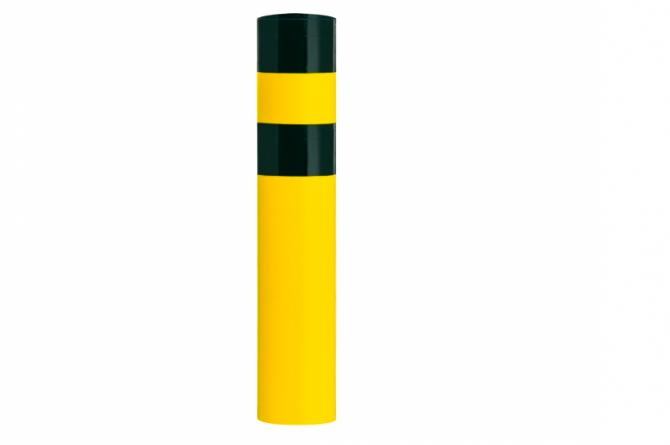 Black Bull rambeveiligingspaal XXL betonneren geel zwart #1 | Rampaal | Groven Store Safety