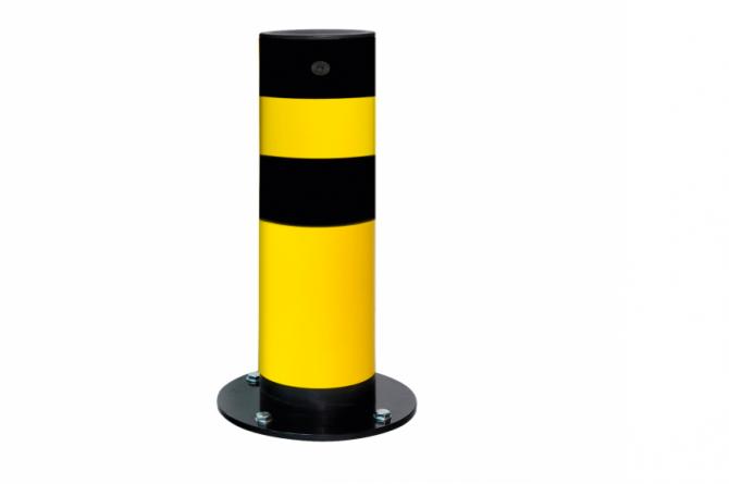 Black Bull rambeveiligingspaal 665x159mm kunststof #1 | Rampaal | Groven Store Safety