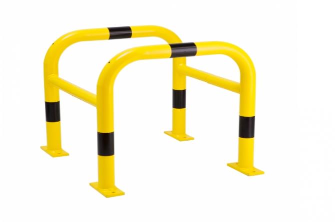 MORION zuilbescherming 2-delig thermisch verzinkt #1 | Paalbeschermer | Groven Store Safety