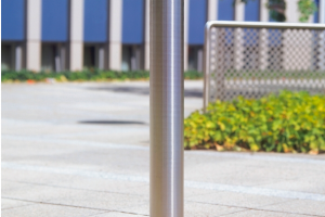 Edelstaalpaal 76mm Ø, om in te betonneren #2 | Edelstaal palen | Groven Store Safety