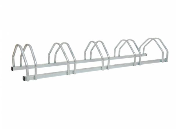 Morion fietsenstaander Staal compact, 5 plaatsen, 250mmH #1 | Fietsenrekken | Groven Store Safety