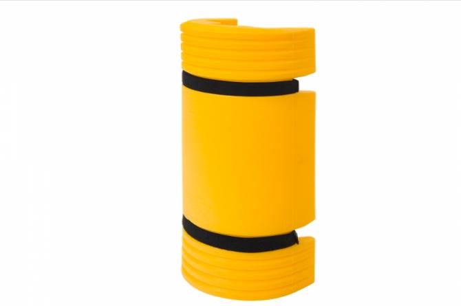 MORION aanrijdbeveiliging kunststof 550x126x104mm #1 | Kunststof aanrijdbeveiliging | Groven Store Safety