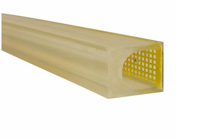 MORION bumper 100x80mm lengte 1000mm #1   Muurbeschermer   Groven Store Safety