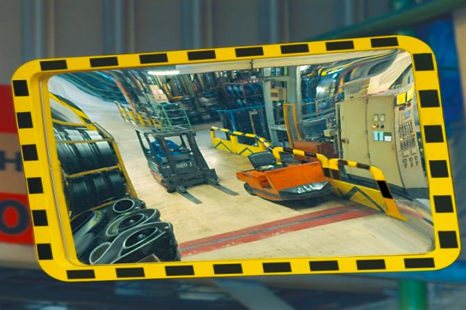 EUCRYL industriespiegel 600x800mm #1 | Veiligheidsspiegels | Groven Store Safety