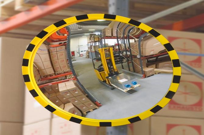 EUCRYL industriespiegel 600mm Ø #1 | Veiligheidsspiegels | Groven Store Safety