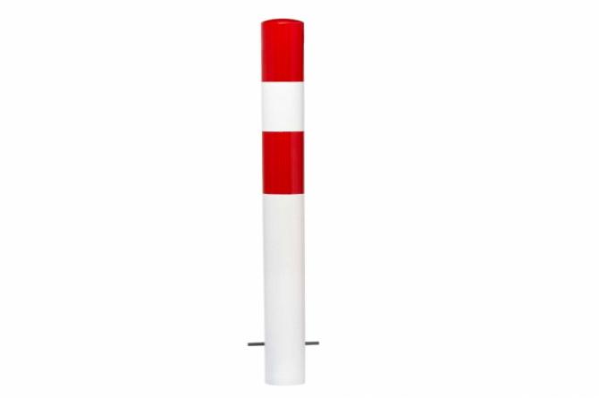 Morion afzetpaal 90mm betonneren, gecoat #1 | Om in te betonneren vast | Groven Store Safety