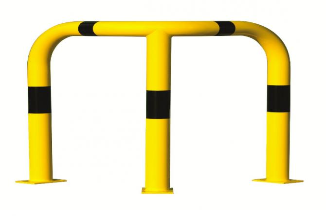 hoek aanrijdbeveiliging beugel staal gecoat kunststof xl #1 | Beschermingsbeugel | Groven Store Safety