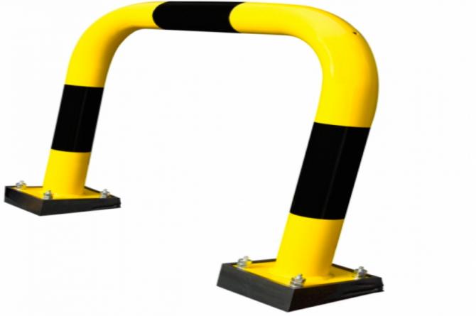 beschermingshek swing h640xb1000mm staal kunststof thermisch verzinkt #1 | Beschermingsbeugel | Groven Store Safety