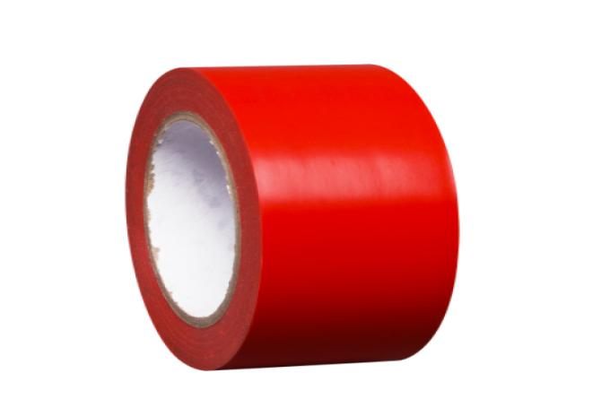PROLine tape bodemmarkering zelfklevend rood #1 | Markeringstape | Groven Store Safety