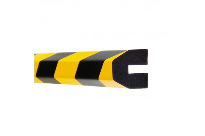 MORION profielbescherming 40x40x8mm trapezium #1 | Stootbanden | Groven Store Safety